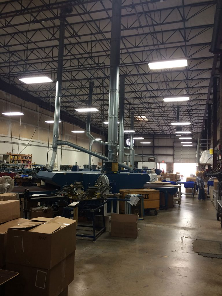 Warehouse and Production lighting