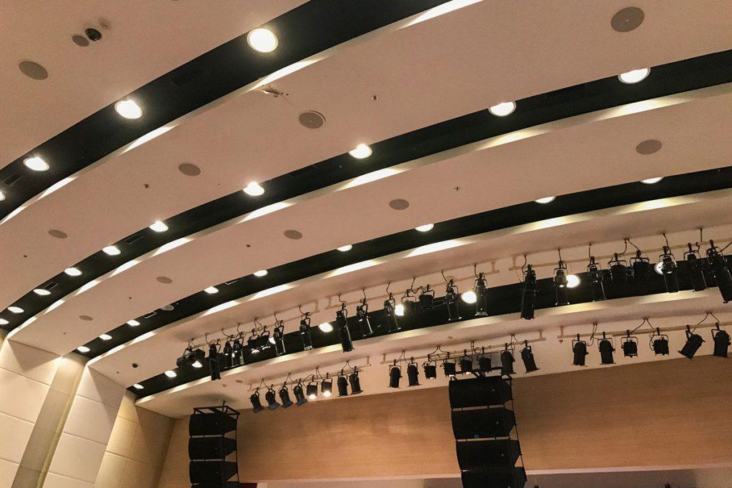 Auditorium and Theater lighting